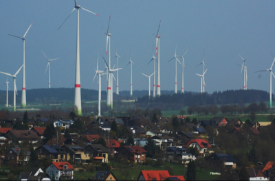 German wind farm