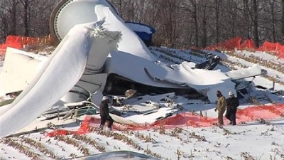 turbine collapse fenner NY
